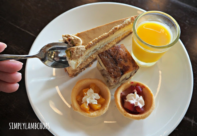 Sandbank Lunch Buffet: Dessert