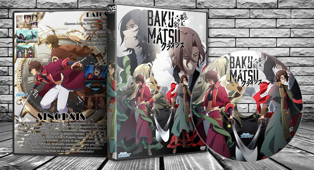 Bakumatsu: Crisis | Cover DVD |
