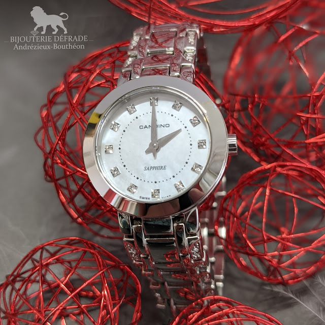 Montres Candino, made in Suisse
