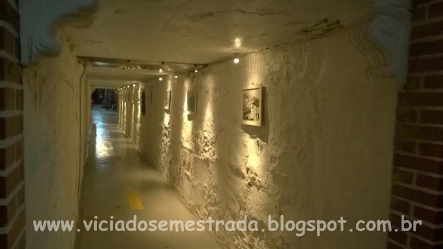 Cooperativa Vinícola Aurora, túnel sob a Rua Olavo Bilac