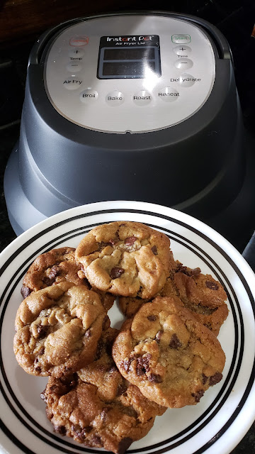 Instant Pot Air Fryer Cookies | Air Fryer Cookies with air fryer lid