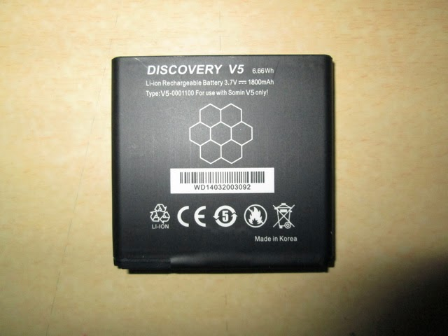 baterai hape outdoor Discovery V5