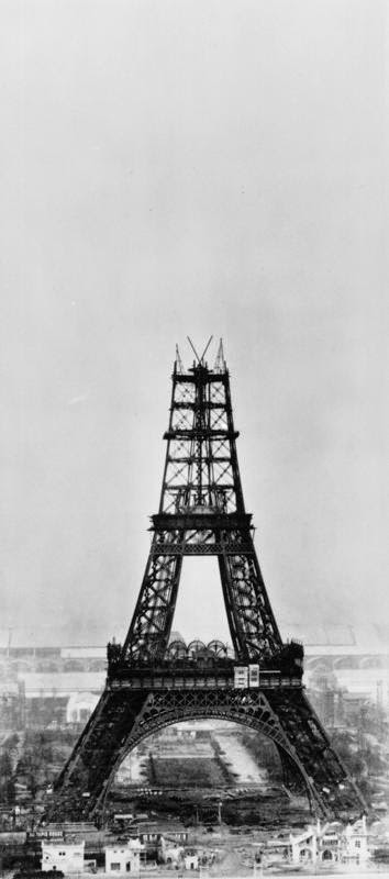 November 1888 The Eiffel Tower Under Construction In Paris France 14th Photo By Henry Guttmann Getty Images