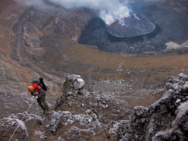 Active volcanoes of the world, Democratic Republic of Congo