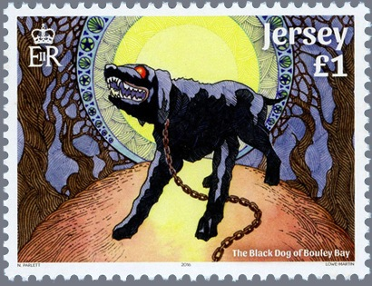 Nasty Looking Labrador Depicted On New Jersey Stamp