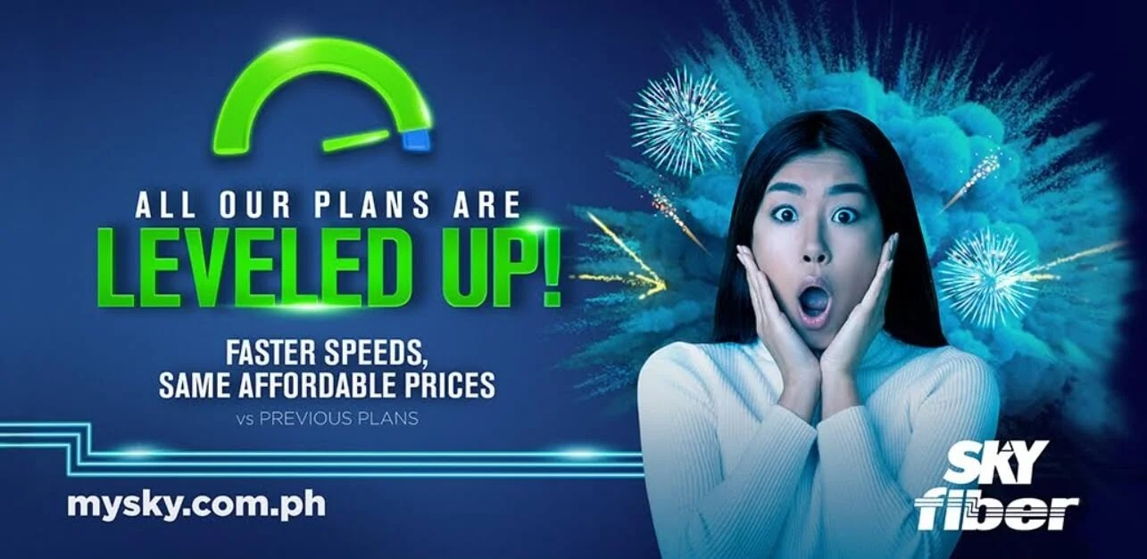 Experience Leveled-up Speeds with FREE SKY Fiber Boost; Faster Connections, Same Affordable Prices
