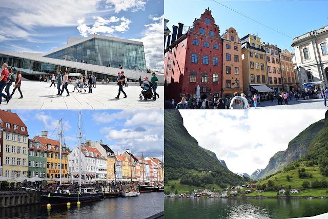Oslo Estocolmo Copenhague e Fiordes