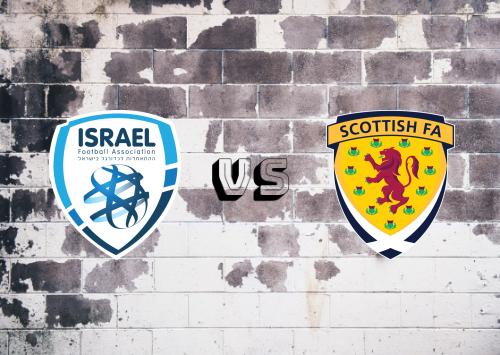 Israel vs Escocia  Resumen