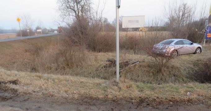 Nem adott elsőbbséget, ezért okozott balesetet egy sofőr Berényben