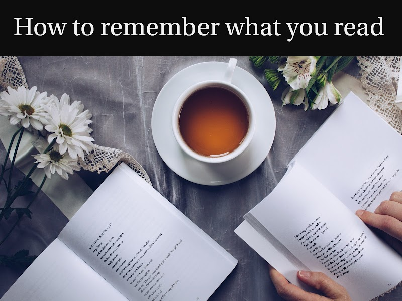 4 Powerful Tips to remember what you read - 100% working tips