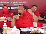 Rakor PDIP se-Sumut Gelombang 4, Rapidin: Petugas Partai Harus Selalu Turun ke Bawah!