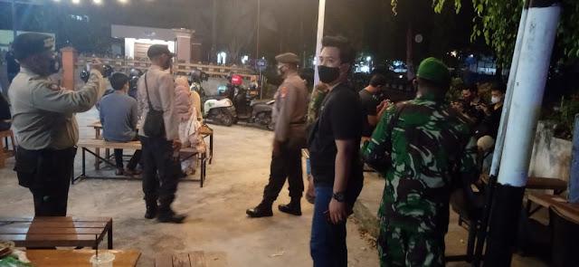 TNI/Polri Sidak THM Dalam Rangka Penegakan Disiplin Prokes