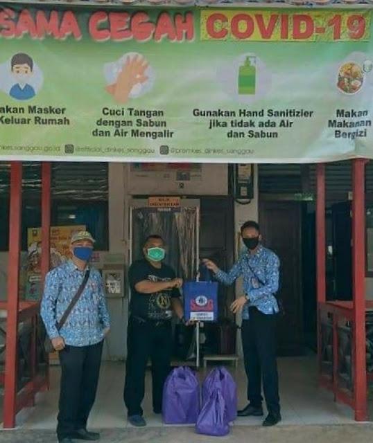 CU Semarong KC Tayan Menyerahkan APD
