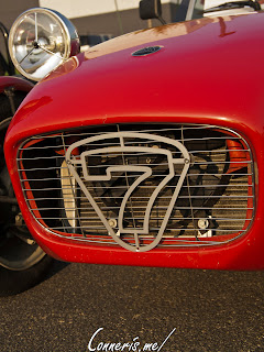 Birkin Lotus Seven grille 7