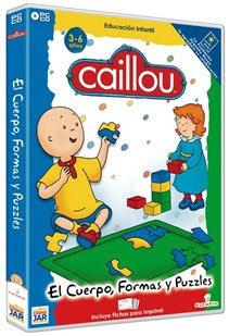 Caillou: El Cuerpo, Formas y Puzzles.