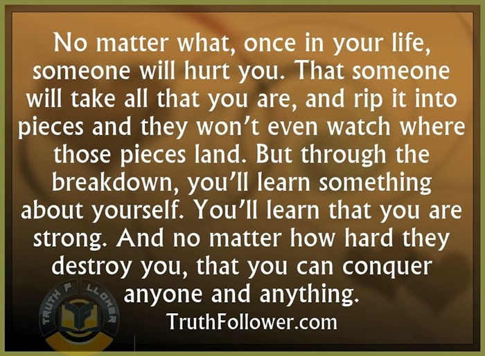 You'll Learn Something About Yourself, Quotes About Life