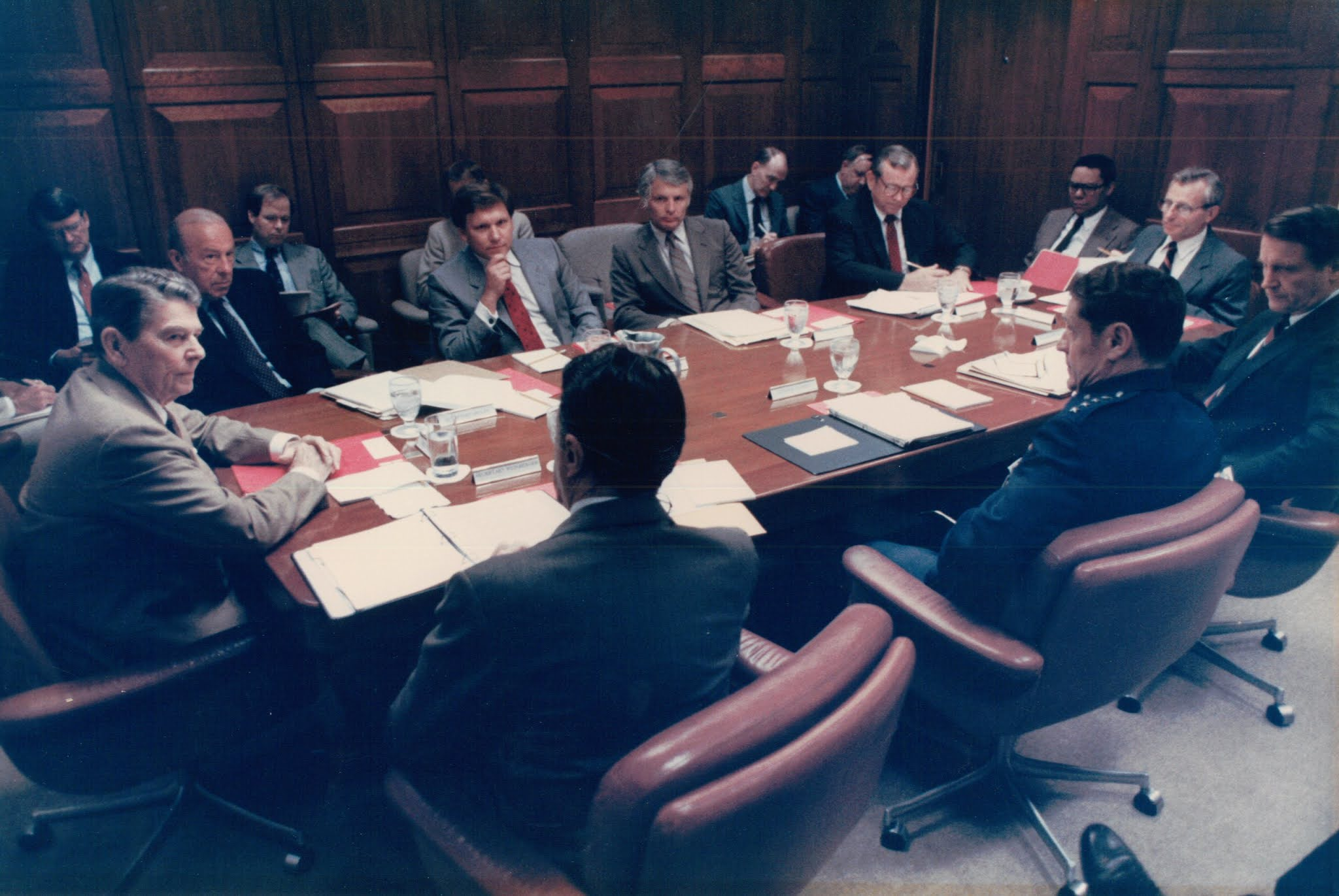 ronald reagan white house situation room