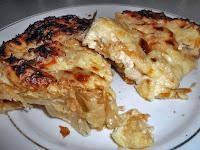 Ξεσκέπαστη κασερόπιτα με τέσσερα τυριά και γιαούρτι  - by https://syntages-faghtwn.blogspot.gr