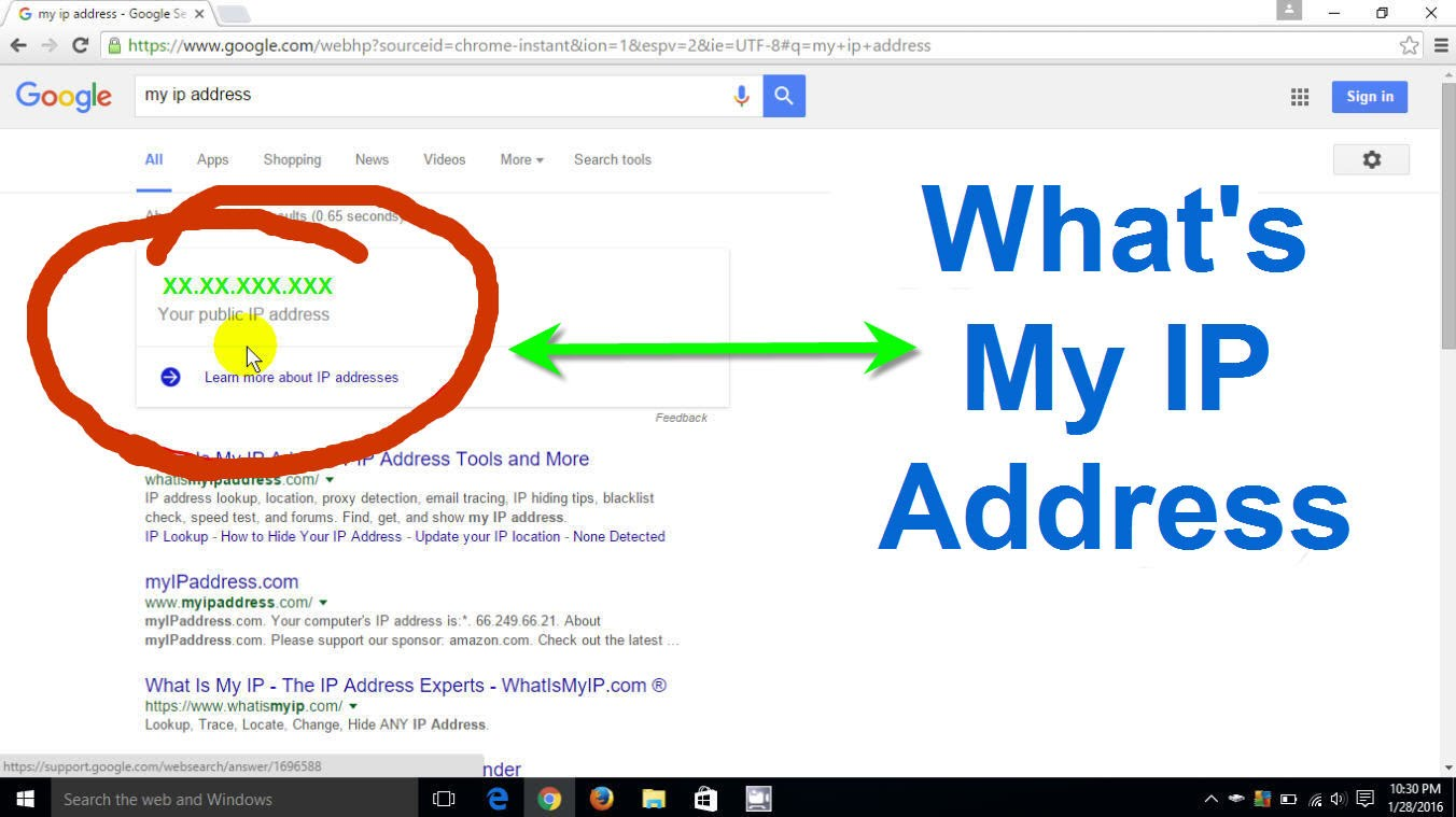 Getting a database of IP Addesses