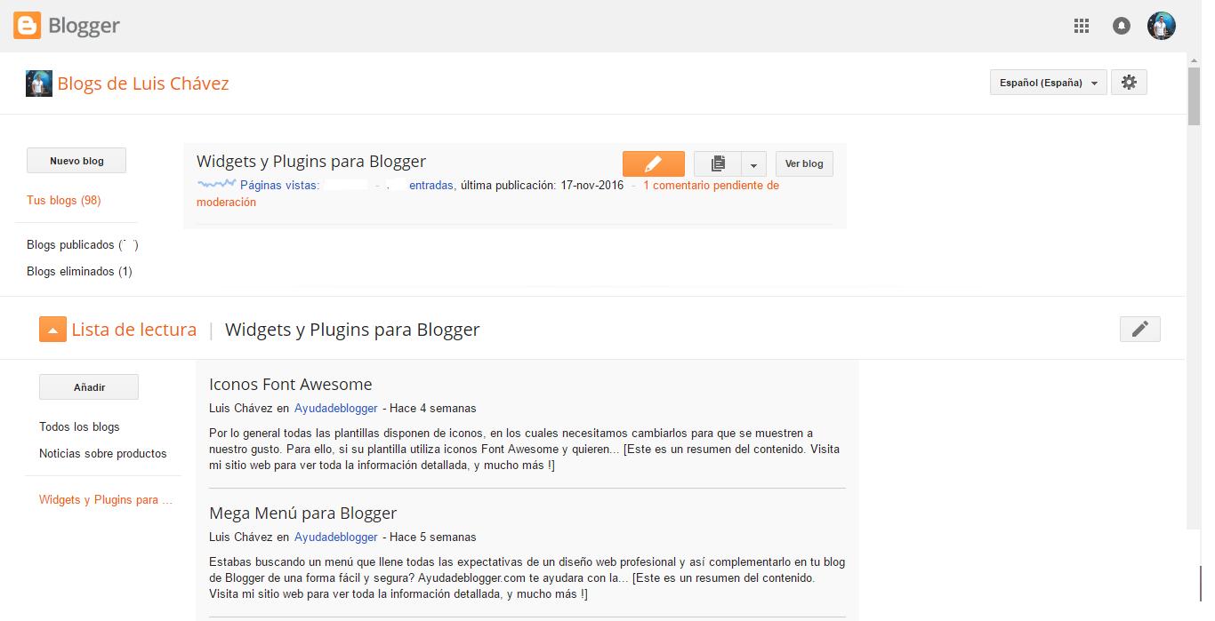antigua plataforma de Blogger.com