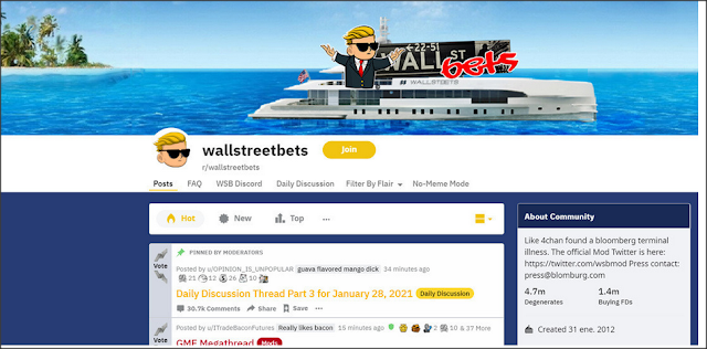 Cómo usuarios de Reddit dispararon 24 veces el valor de GameStop en menos de un mes e hicieron perder miles de millones a gigantes de Wall Street
