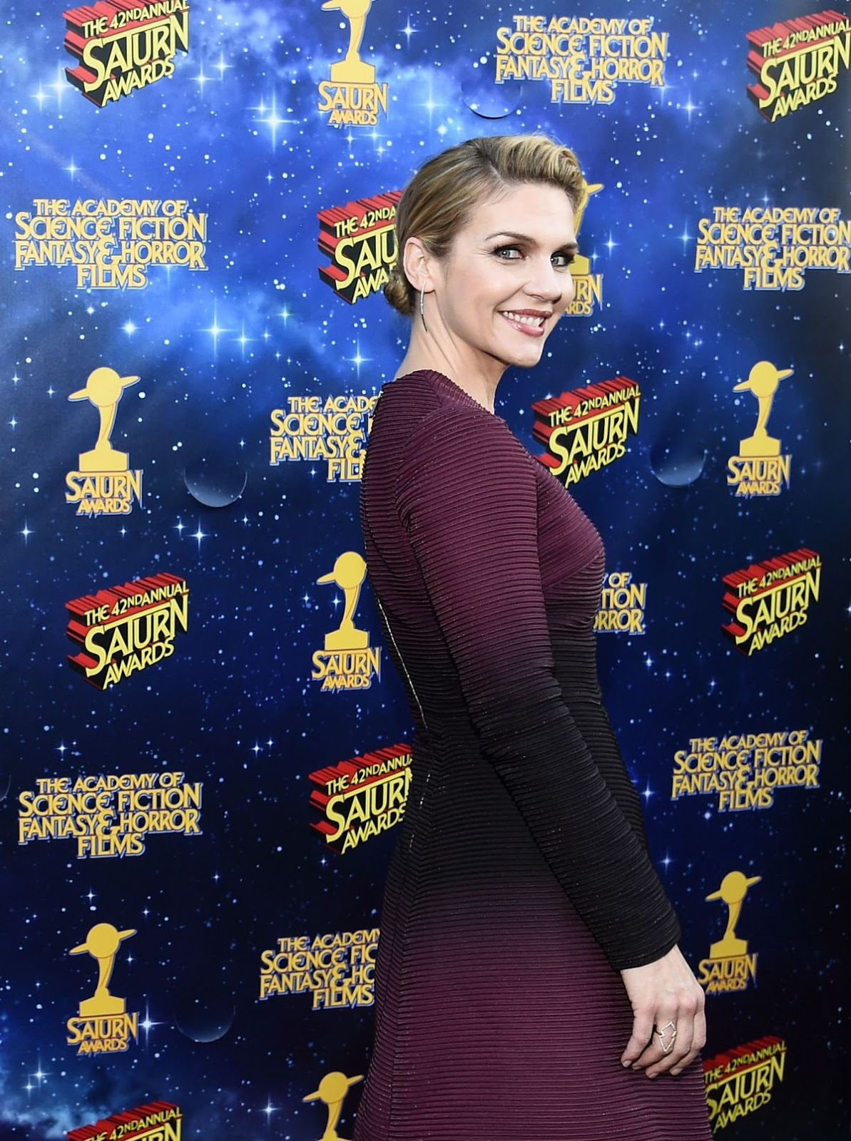 Rhea Seehorn at 2016 Saturn Awards in Burbank