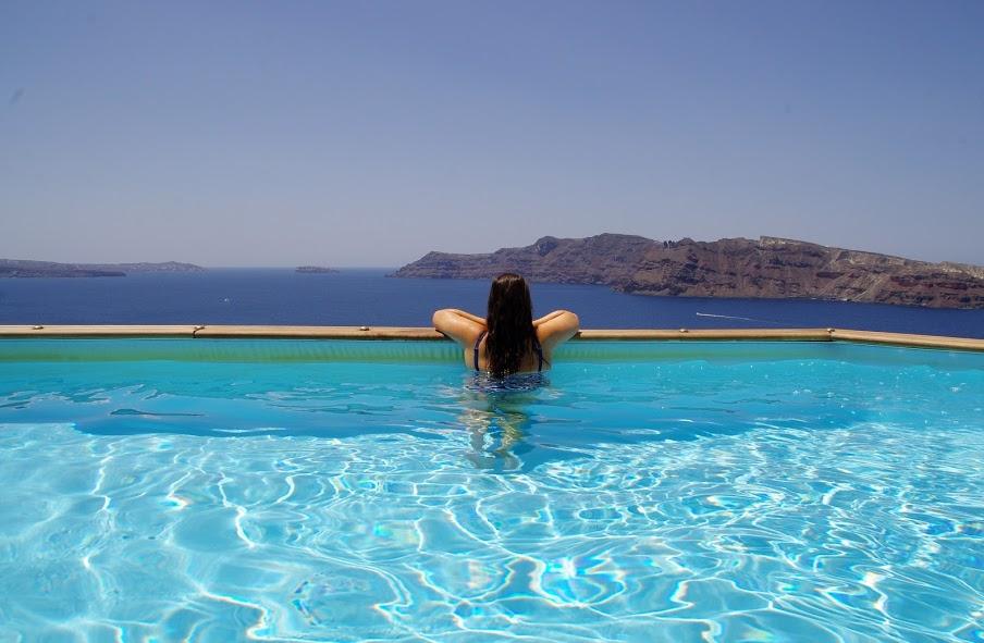 Infinity Pool Santorini Greek Islands