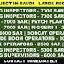 Saudi Arabia Oilfield Jobs Large Recruitment | Apply Now