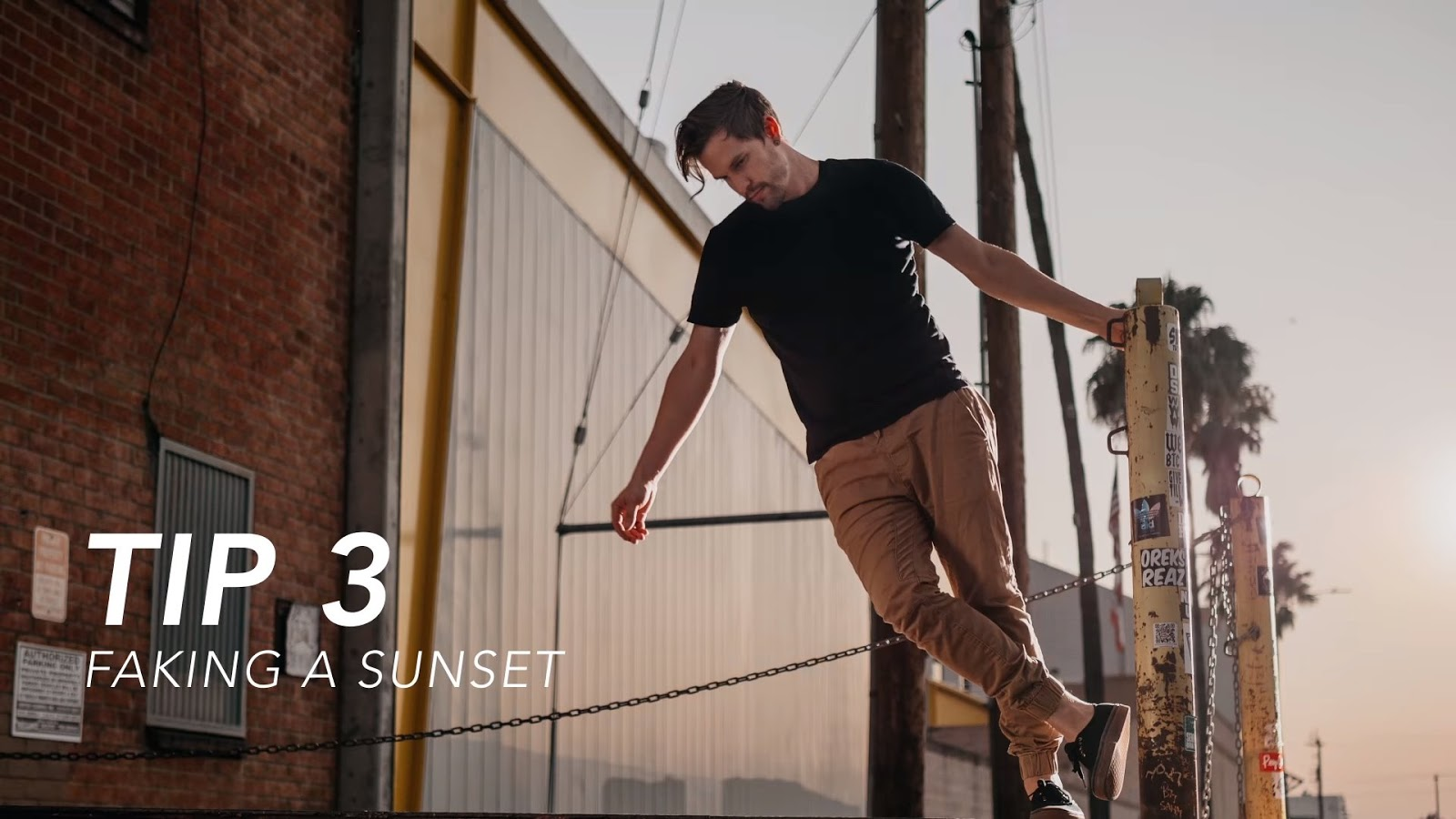 Faking a Sunset in Camera and Other Crucial Lighting Tips