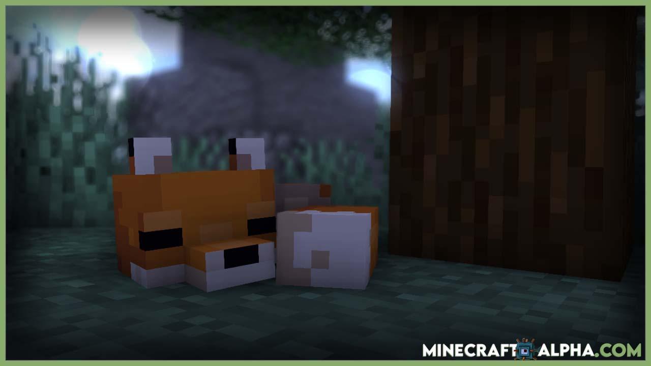 Minecraft Fox