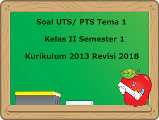 Contoh Soal UTS/ PTS Tema 1 Kelas 2 Semester 1 Kurikulum 2013 Revisi 2018