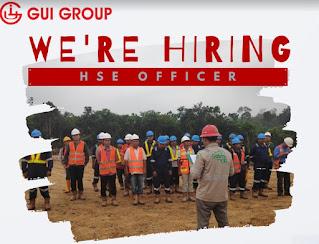 LOKER HSE OFFICER GUI GROUP PALEMBANG JUNI 2021
