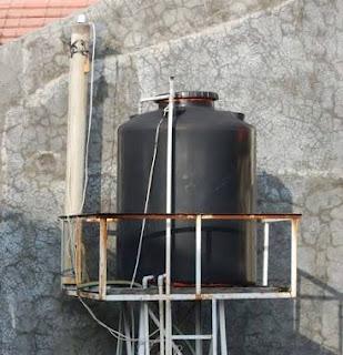 cara memasang tandon air yang benar bersih dari lumut