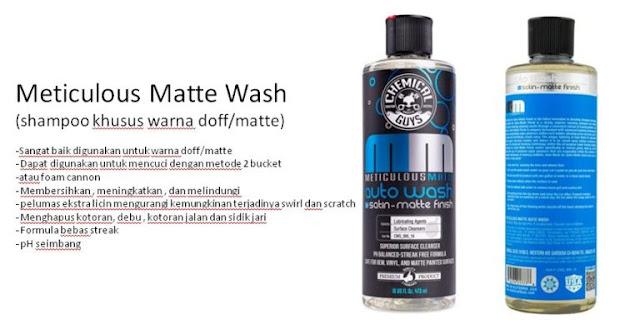 rekomendasi-shampo-sabun-cuci-motor-terbaik-termurah-Meticulous-Matte-Wash