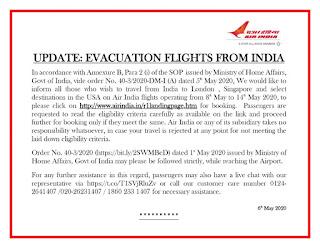 Domestic & International flight kab start hogi,Air india express news