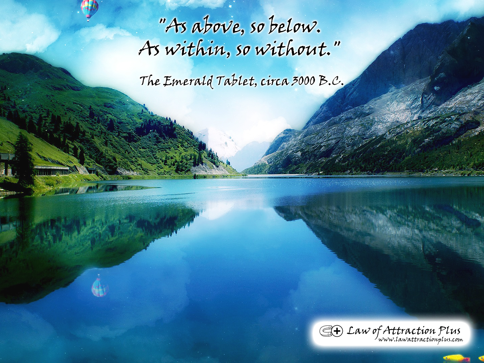 Law Of Attraction Plus The Secret Revealed As Above So Below