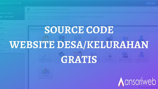Source Code Website DesaKelurahan Gratis