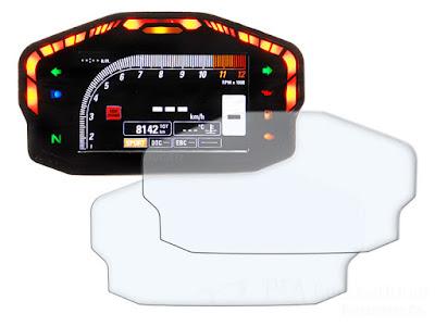 メーターパネルプロテクションフィルム & 作業用ツールセット DUCATI PANIGALE 1199 / PANIGALE 1299 / PANIGALE 899 / PANIGALE 959