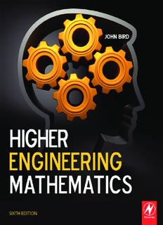 Higher Engineering Mathematics PDF Books By John Bird