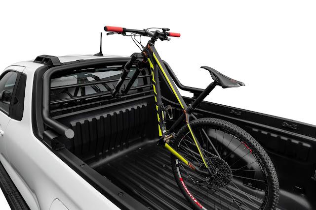 Fiat Strada 2021 - acessórios Mopar