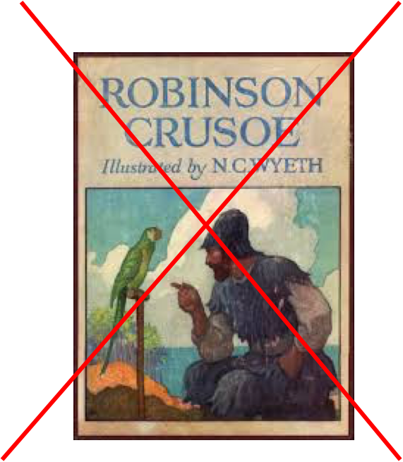 robinson crusoe research paper thesis