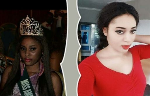 Waoh! See Before & After Bleaching Photos of This Nigerian Beauty Queen