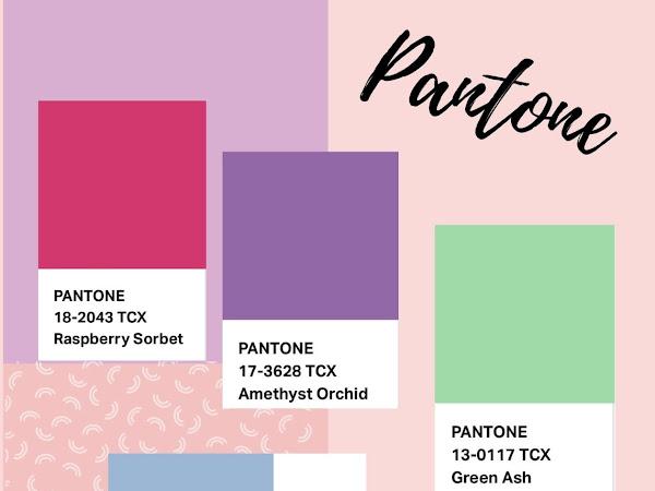 As cores para a Primavera 2021