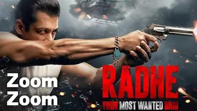 Zoom Zoom Lyrics Radhe, Salman Khan