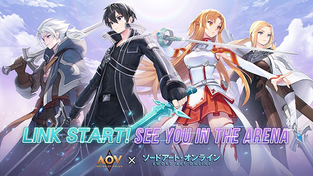 Kolaborasi Arena of Valor dengan Sword Art Online