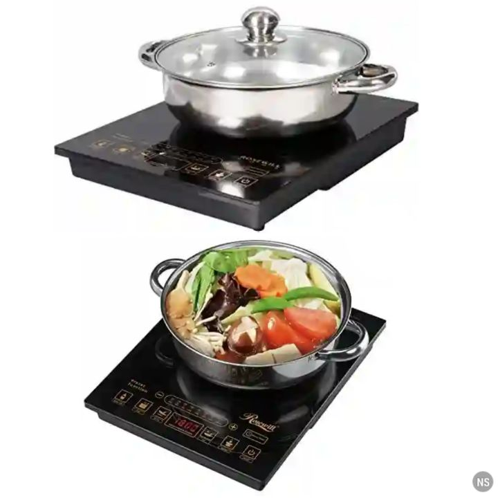 Rosewill Induction Cooker: Kitchen Countertop Pre-Programmed Cooktop Appliance - RHAI-16002