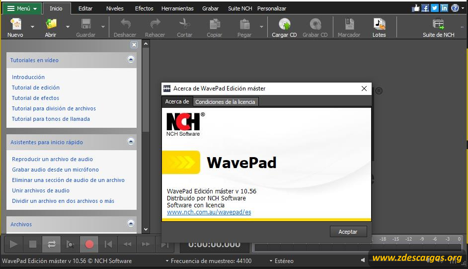 WavePad Sound Editor Full Español