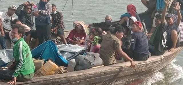 51 TKI Ilegal Nekat Pulang dengan Kapal Kayu, 1 Orang Meninggal di Perjalanan