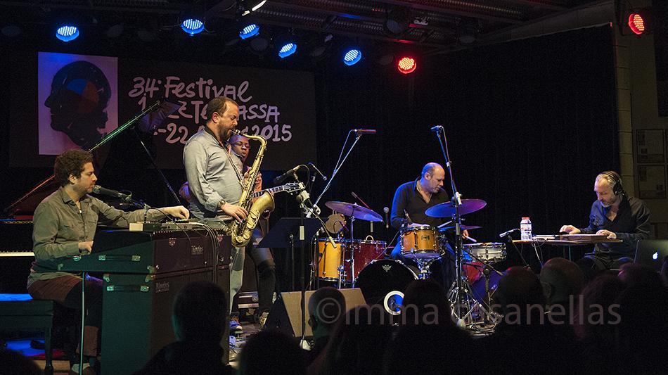 Jeff Ballard 'Fairgrounds' amb Bill McHenry, Nova Jazz Cava, Terrassa 7-3-2015