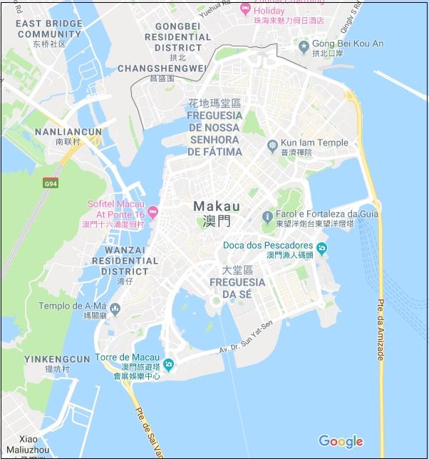 Macau Map HD